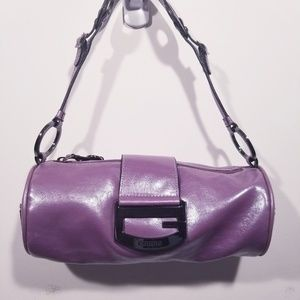 Guess Tube Purse Frosted Lavender NWOT